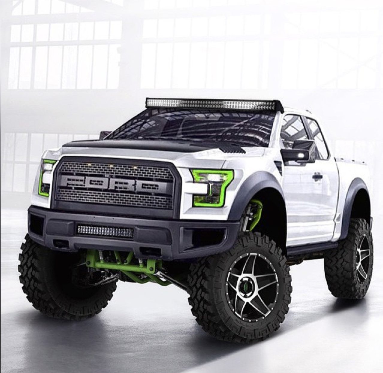 GoBajaCAGoAltaCA  2017 Ford Raptor loses weight gets more power