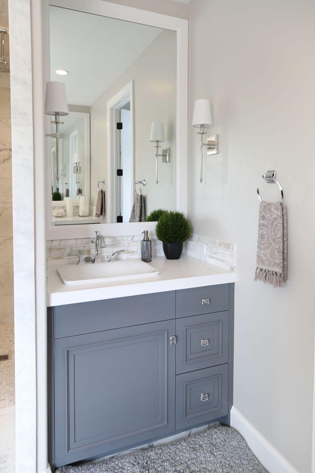 30+ Best Modern Farmhouse Bathroom Wall Color Ideas | Pinterest ...