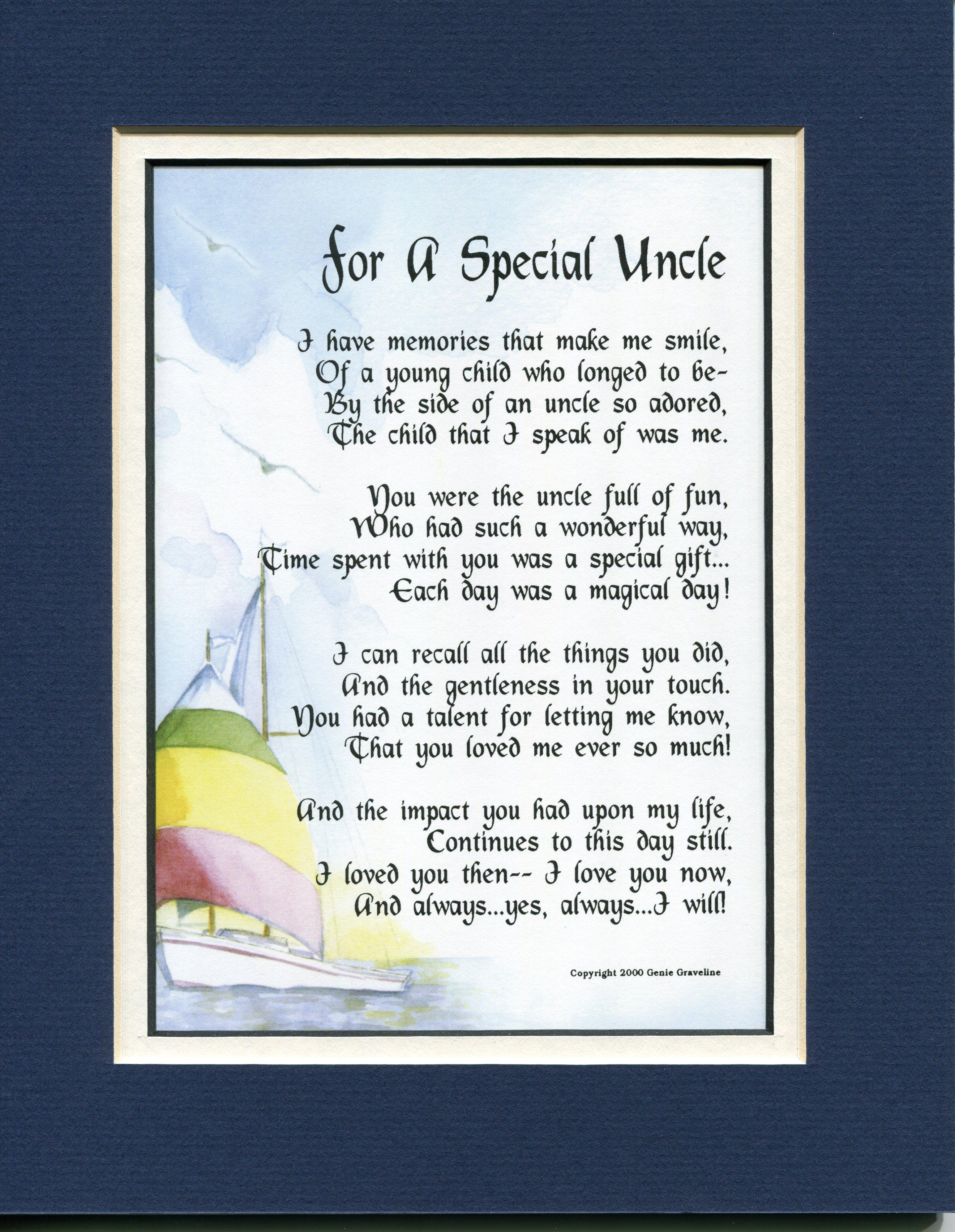 Uncle Death Poems 3