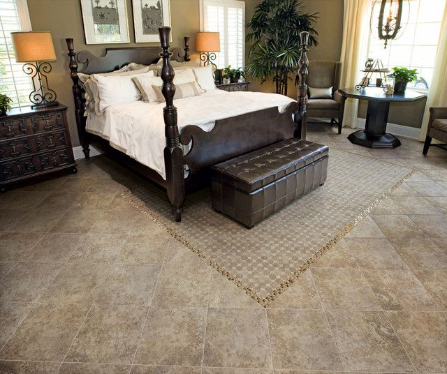 Exceptional Tile For The Bed Room Is Just At Popular As Wood Tile · Bedroom FlooringBasement  ...