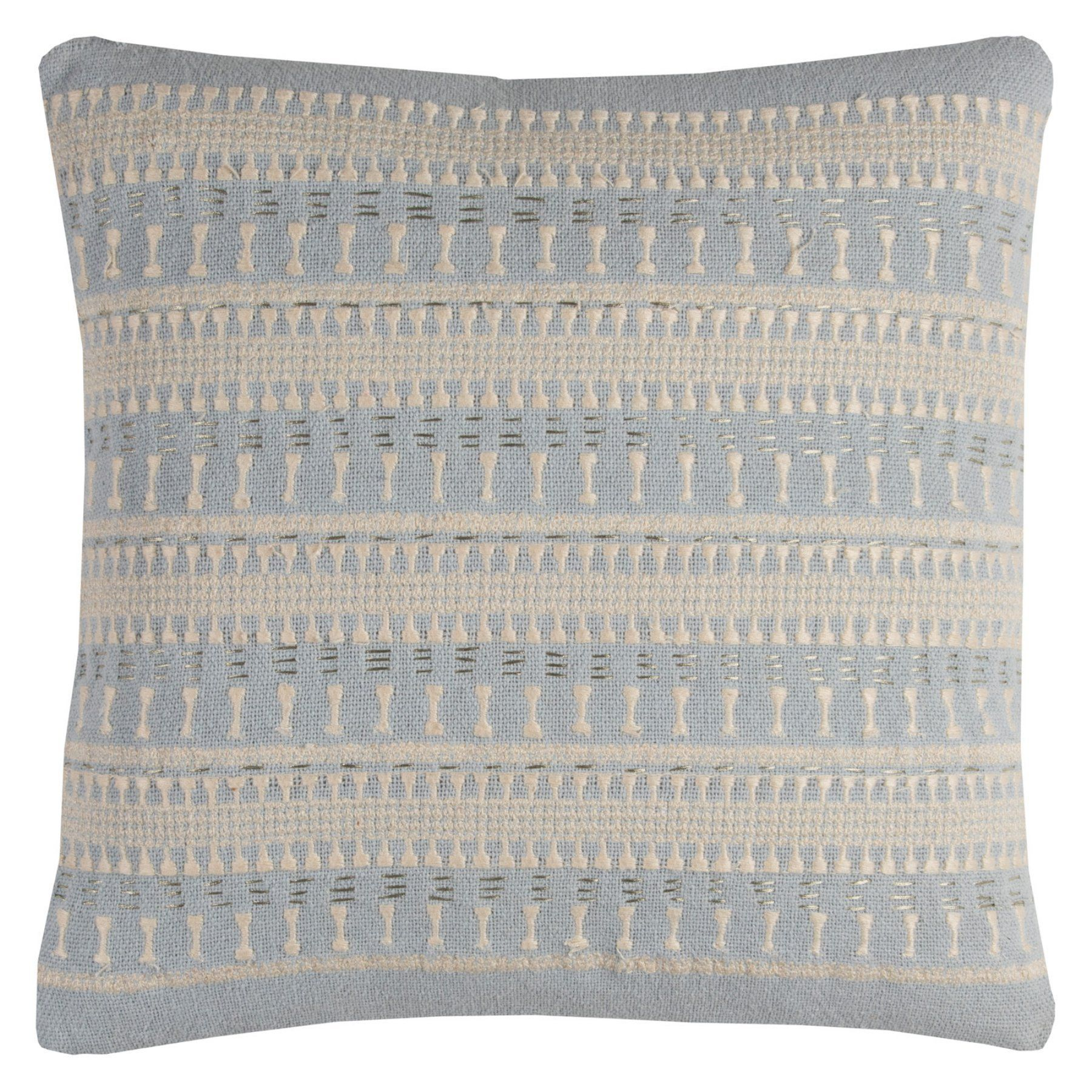 Rizzy Home Textured Stripe Decorative Pillow