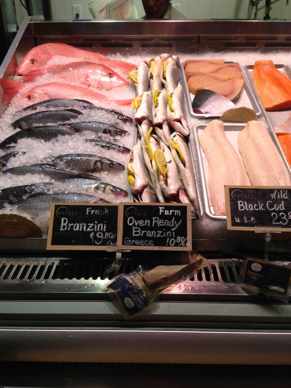 seafood at Eataly NYC Eataly, Foodie travel