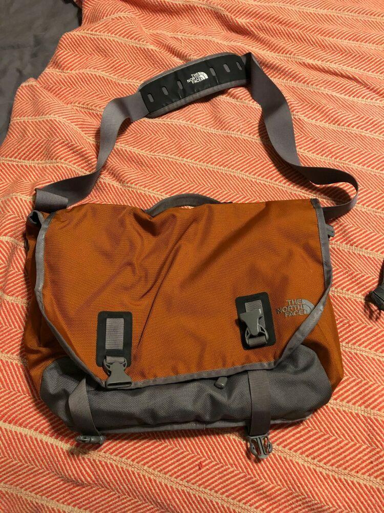 delicacy visual weak  Orange NORTH FACE LARGE BASE CAMP MESSENGER BAG CROSS BODY LAPTOP #fashion  #clothing #shoes #accessories #unisexclothings… | Messenger bag, Bags,  Unisex accessories