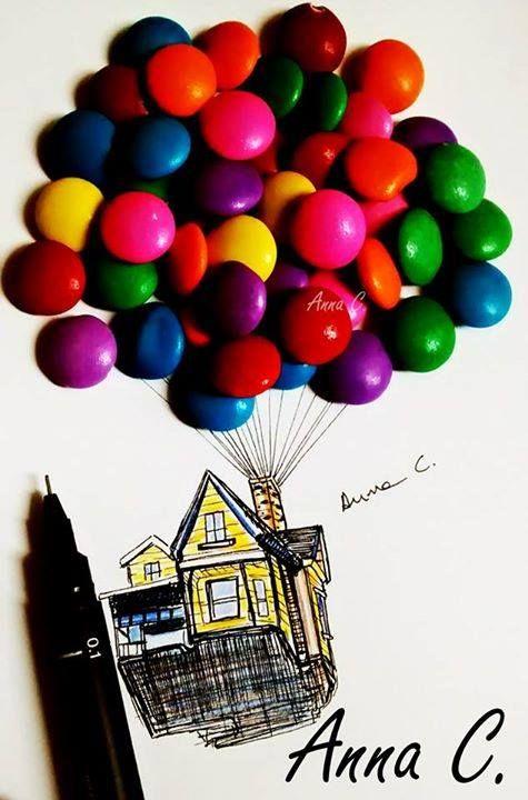 Los dibujos también pueden ser decorados... ¡prueba nuevas cosas! ;)