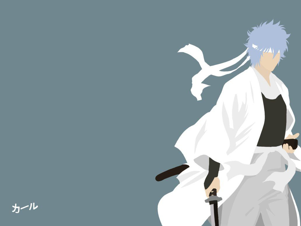 Minimalist Art: Shiroyasha by SpellsEmp
