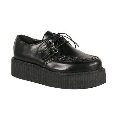 2 Platform Gothic Mens Punk Basic Veggie Inch Shoe Rockabilly CrxBoedW