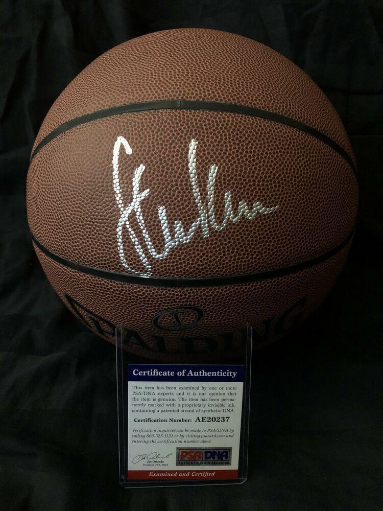 38b9d05c39f STEVE KERR Autograph Signed NBA Basketball Warriors Bulls Spurs PSA DNA COA   GoldenStateWarriors