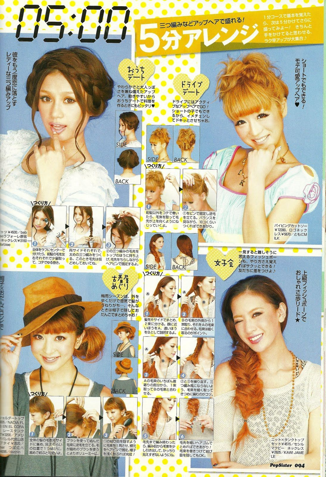 Peinados Japonés