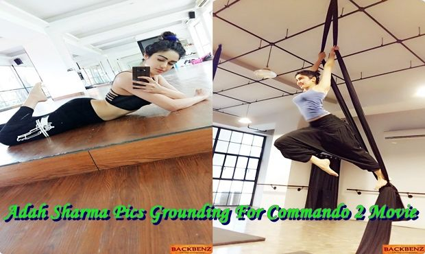 Adah Sharma Pics, Commando 2 Stills, Adha Shatma grounding for her Latest Movie Commando 2 are ruing in social Website, Commando 2 is an upcoming Indian Bollywood activity film