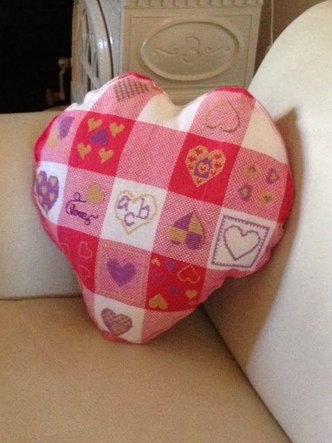15 cuori per un cuscino