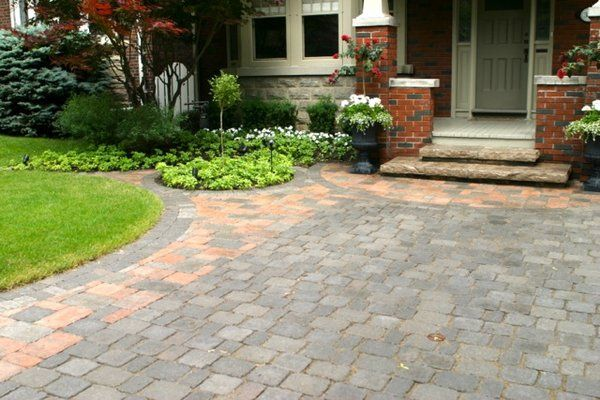 Merveilleux Pavers In Front Yard   Yahoo Search Results