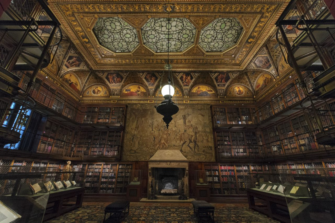 Steampunktendencies pierpont morgan library Steampunk interior