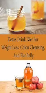 Apple Cider Vinegar Detox Drink Diet For Weight Loss, Colon Cleansing, And Flat Belly #applecidervinegarbenefits