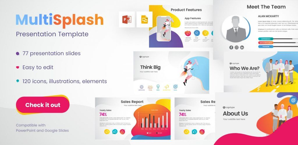 The Best Free Powerpoint Templates To Download In 2019 Graphicmama Blog In 2020 Presentation Templates Presentation Create Powerpoint Template