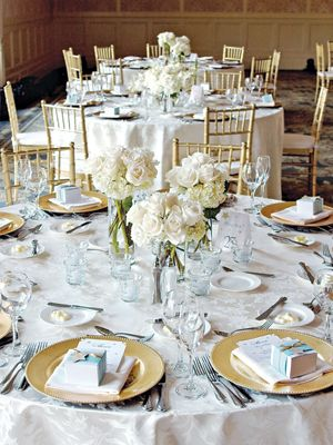 how to decorate banquet square and round reception tables wedding ideas wedding reception. Black Bedroom Furniture Sets. Home Design Ideas