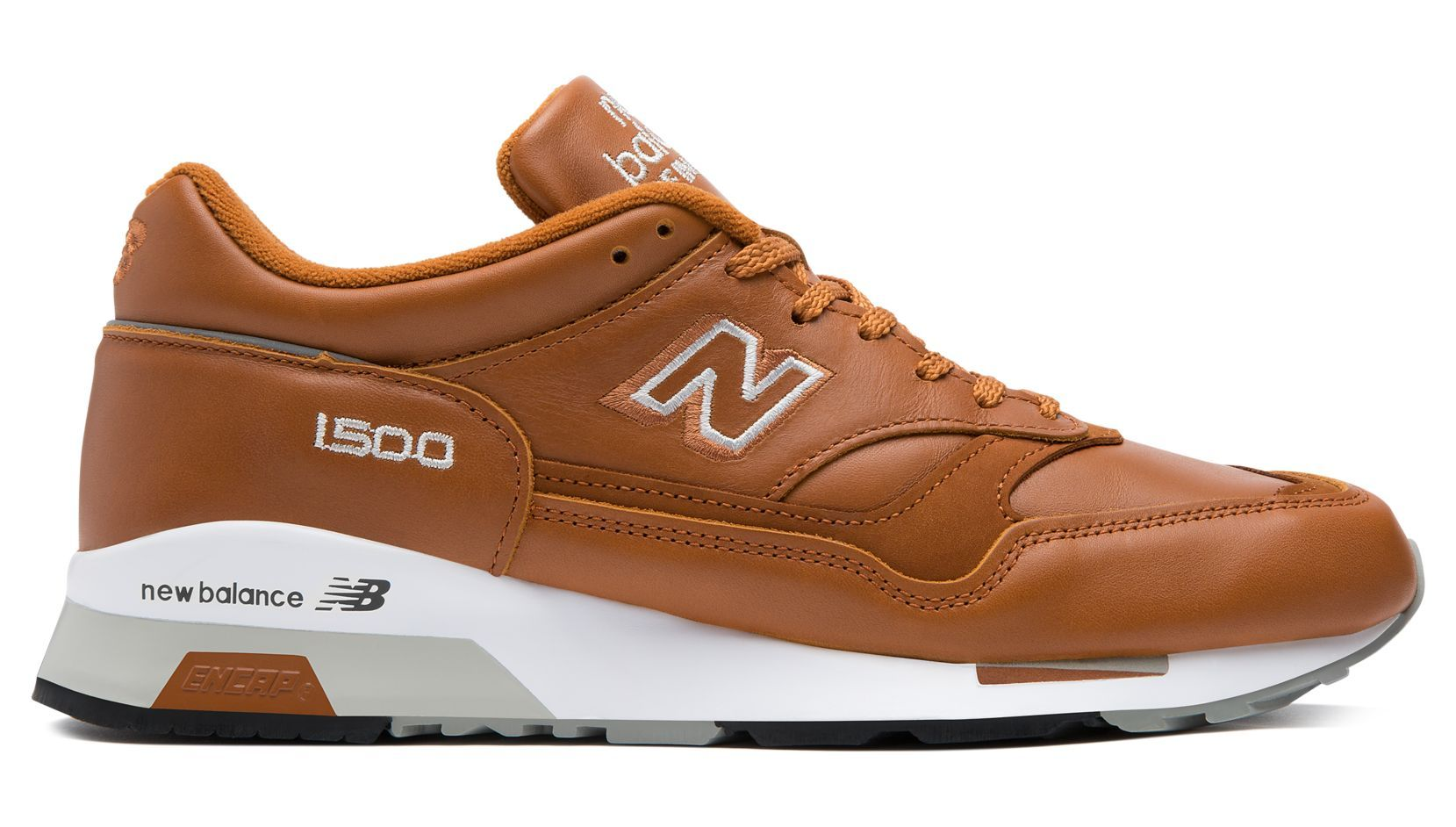 New Balance Brown 1500 Made In Uk Leather for men