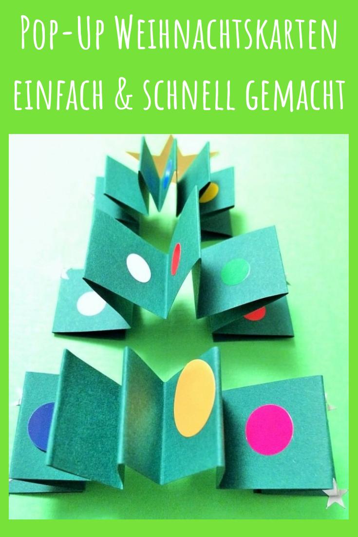 Schreibt Mal Wieder Weihnachtskarten Selbst Gemacht Weihnachten