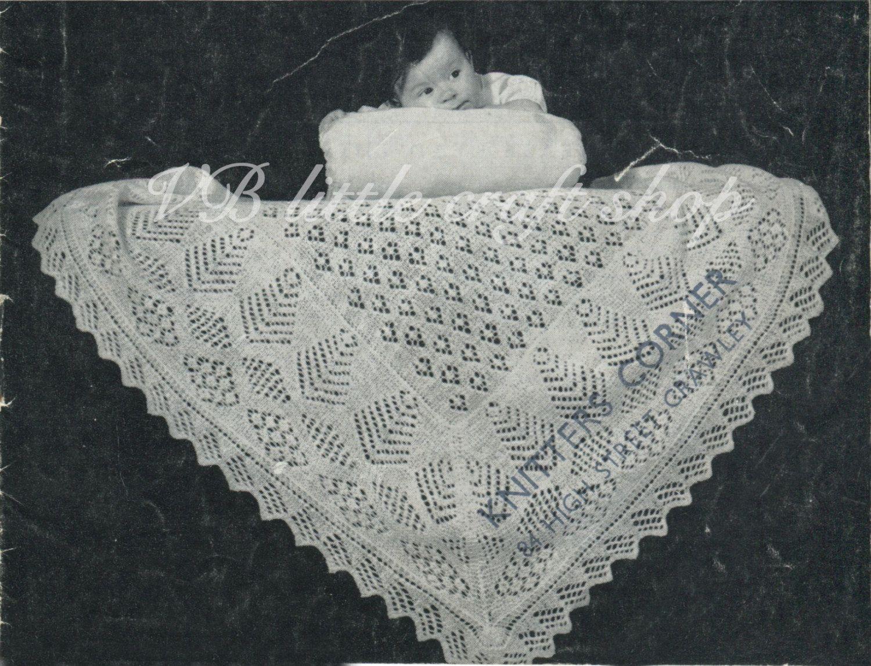 Shetland shawl knitting pattern. Instant PDF download | Knitting ...