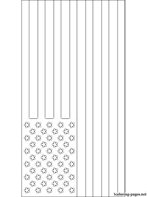 usa flags coloring pages united states of america flag