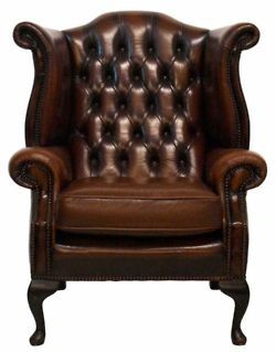I Want One Of These Chesterfield Chairs!