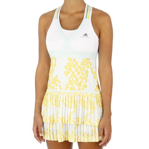 Buy Adidas Caroline Wozniacki Stella Mccartney Barricade Dress Women White Yellow Online Womens Dresses Outerwear Dress Yellow Online