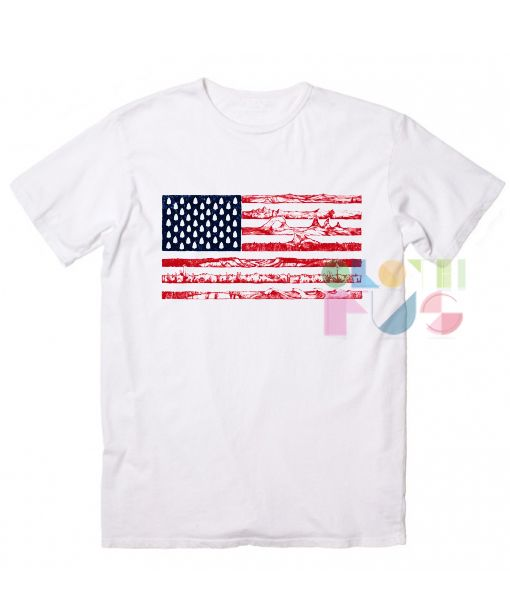 American Flag Meridian Line Custom T Shirt Design Ideas | Shirt Designs,  Flags And Shirt Quotes
