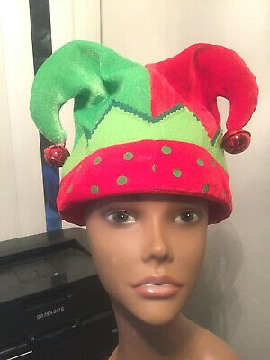 (eBay Ad Link) Jester Christmas Jingle Hat By Dan Dee