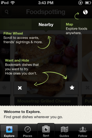 Coach Marks / iOS UI Patterns (beta)