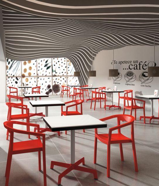 Fauteuil design empilable urbain - Sledge