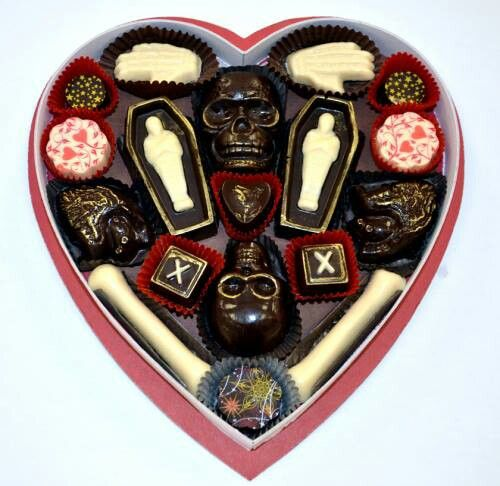 Chocolates calavera