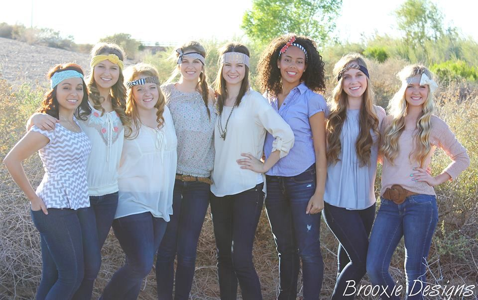 headbands by Brooxie Designs and photography by Alicia Muir Photography