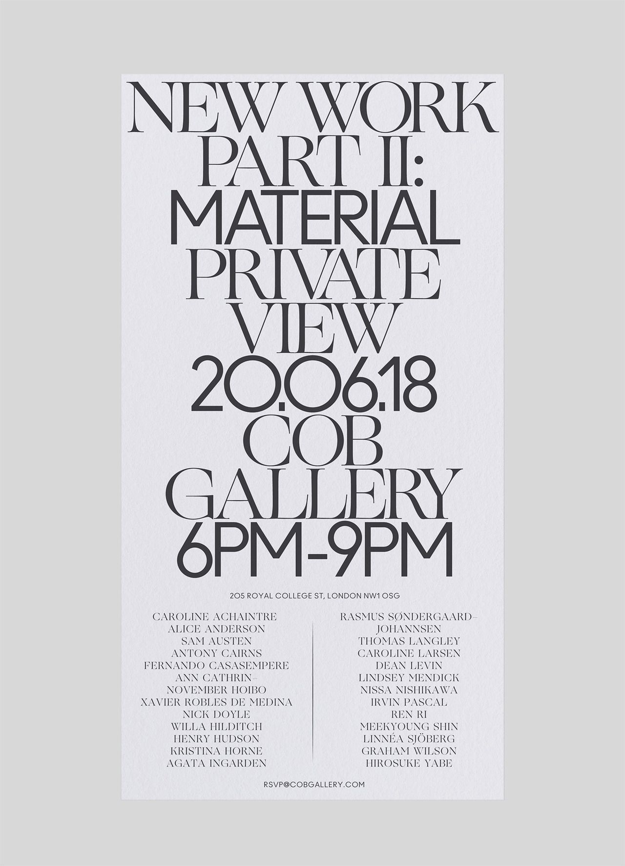 Pin By Kay Creative On Nyfw Calendar In 2020 Minimalist Poster