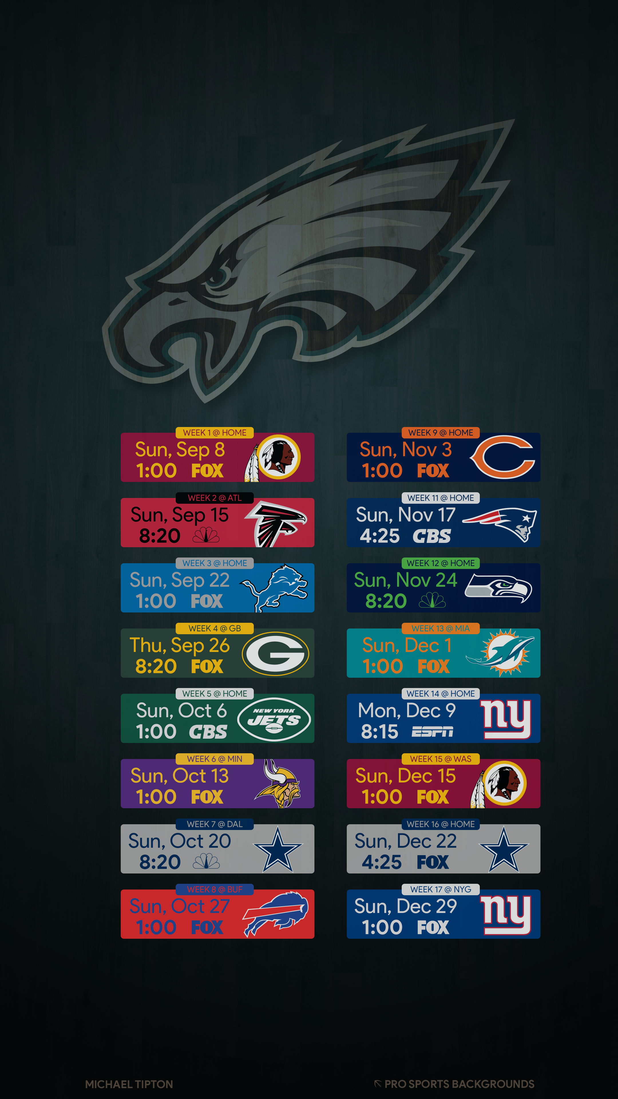 2019 Philadelphia Eagles Wallpapers Philadelphia Eagles