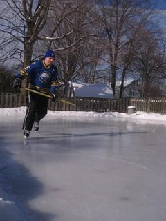 Fariview Park, Lakewood residents build backyard ice rinks ...