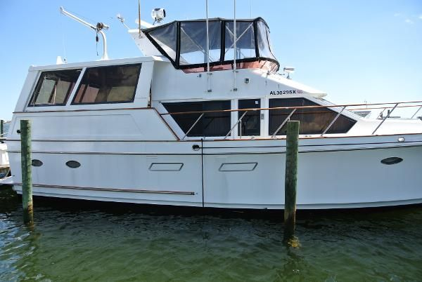Check Out This 1989 Ocean Alexander 48 Flush Deck On Boattrader Com Power Boats For Sale Yacht For Sale Boat