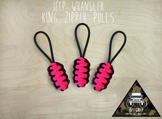 All Years Jeep Wrangler Soft Top Zipper Pulls This Is A Set Of 3 Paracord Zipper Pulls For Those Tricky Jeep Wrangl Jeep Wrangler Jeep Wrangler Soft Top Jeep
