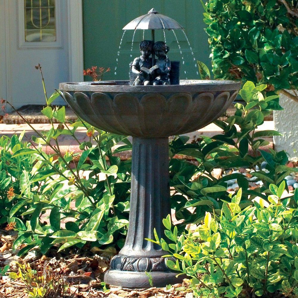 Perfect Bird Bath Water Fountains