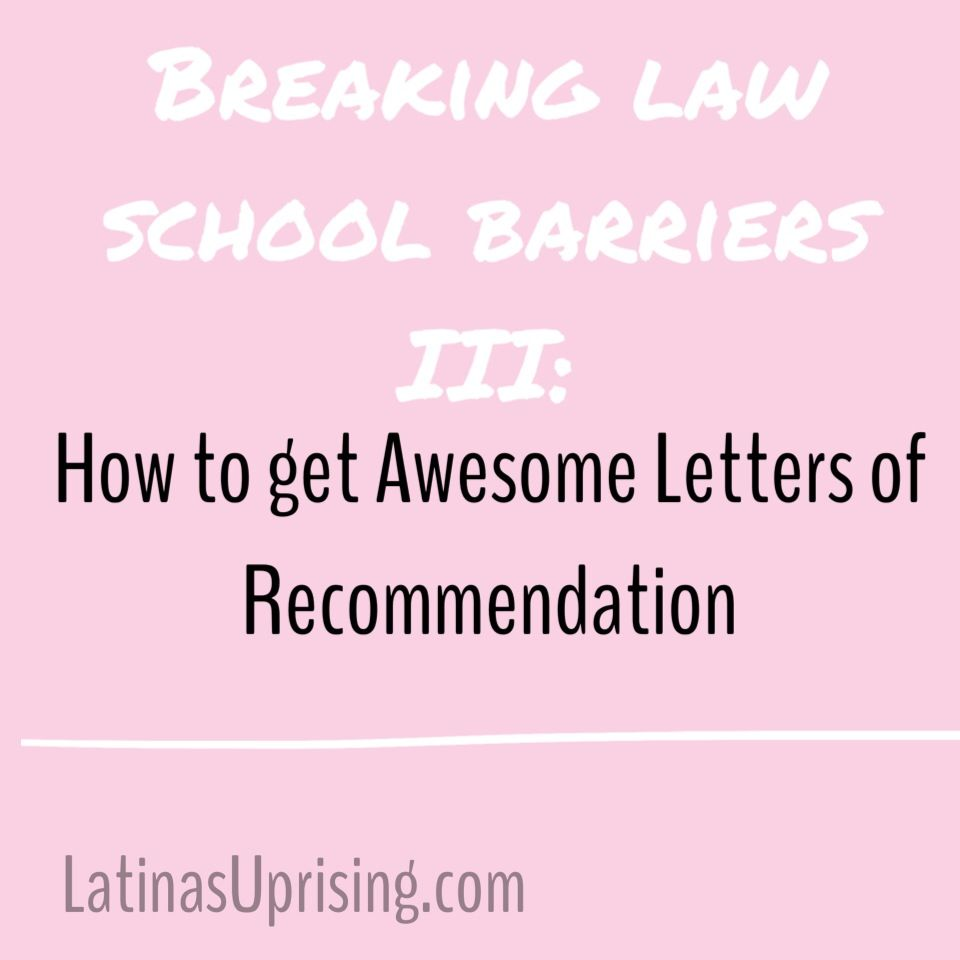 Letters Of Recommendation For Law School  How To Survive The
