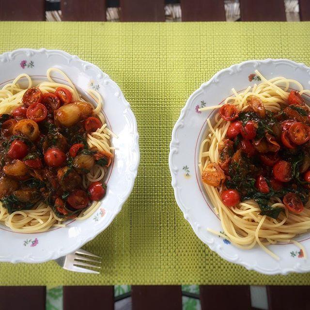 Sommerliches Pastarezept http://ift.tt/1UarHVk #pasta #food #summer #Sommer