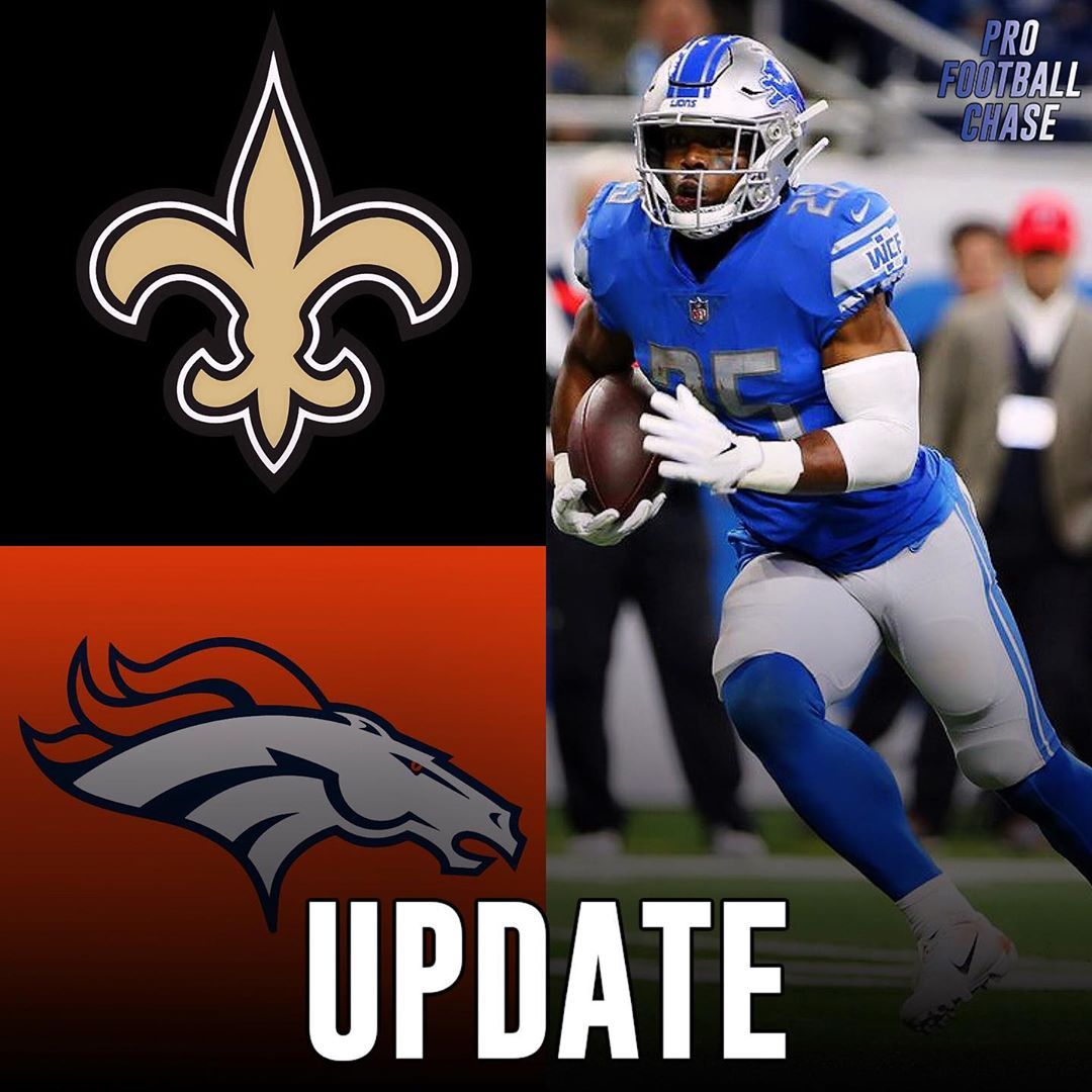 Update Former Lions Rb Theo Riddick Is Deciding Between The