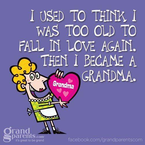 Grandma Grandchildren Grandparents True Quote Saying Live