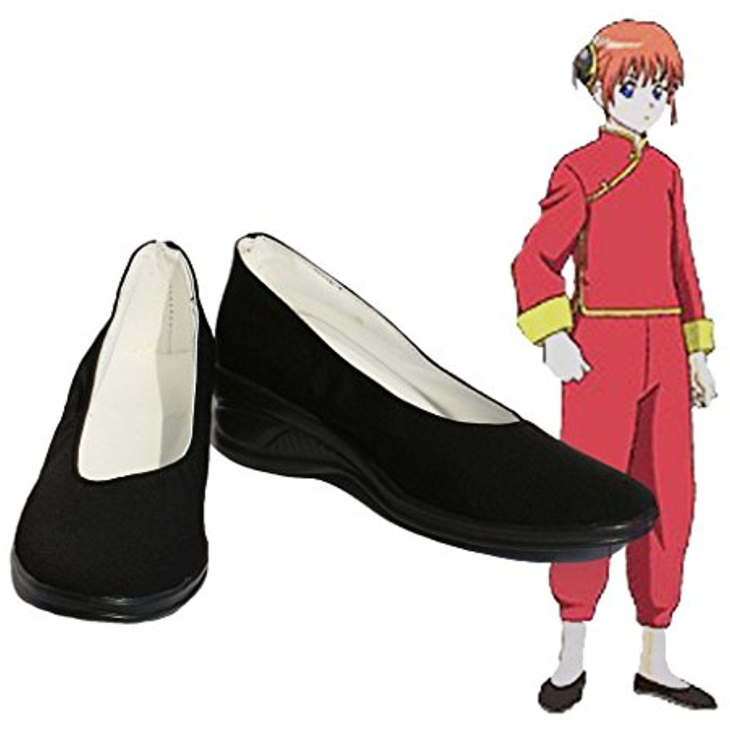 Gintama Kagura Cosplay Shoes Boots Custom Made 3