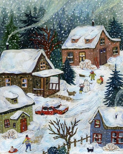 Pin by Chris Reimers on Christmas in 2020 Winter art