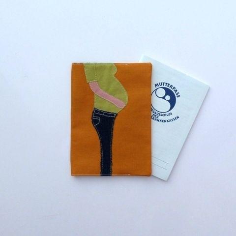 Mutterpasshüllen - Mutterpasshülle Mutterpass - ein Designerstück von Mummeldesign bei DaWanda