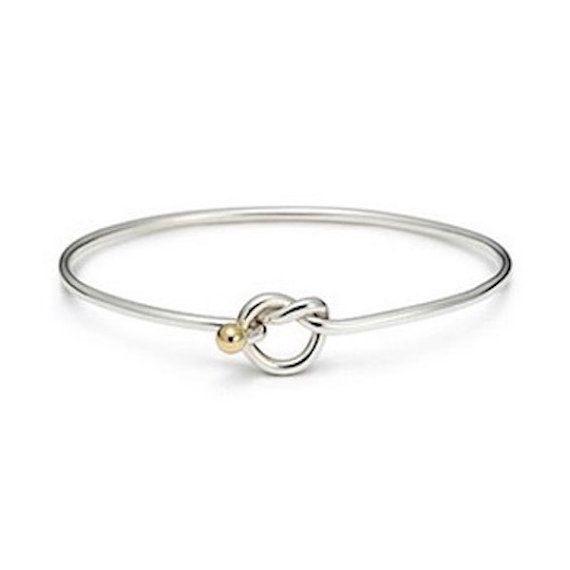 Love Knot Bracelet 925 Sterling Silver Rhodium Gold Beach Ball