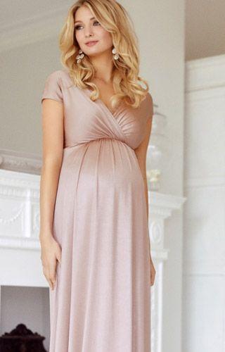 Francesca Maxikleid Schwanger Outfit Umstandsmode Und