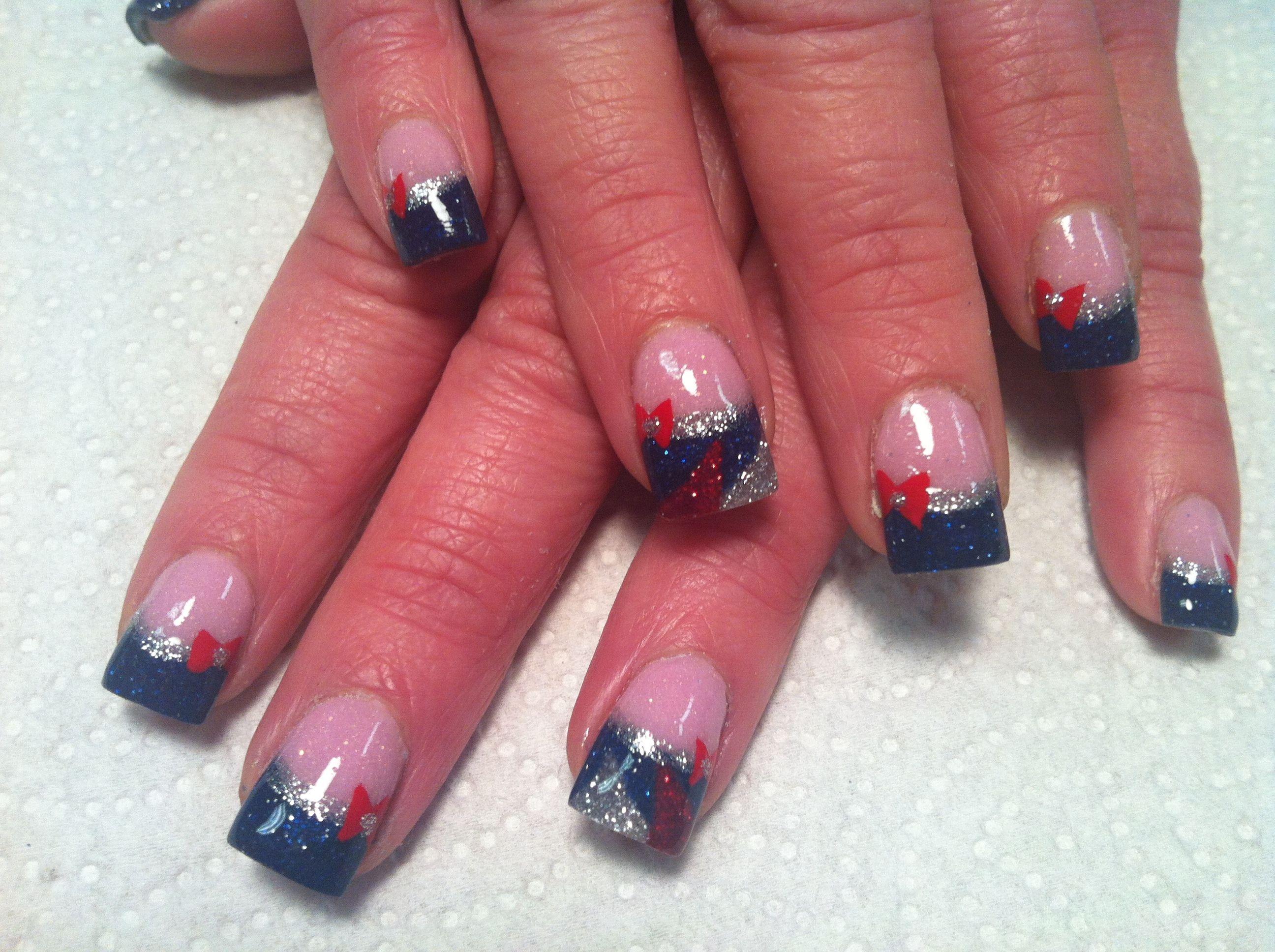 patriots #nails | Patriots Nails | Pinterest | Patriots, Football ...
