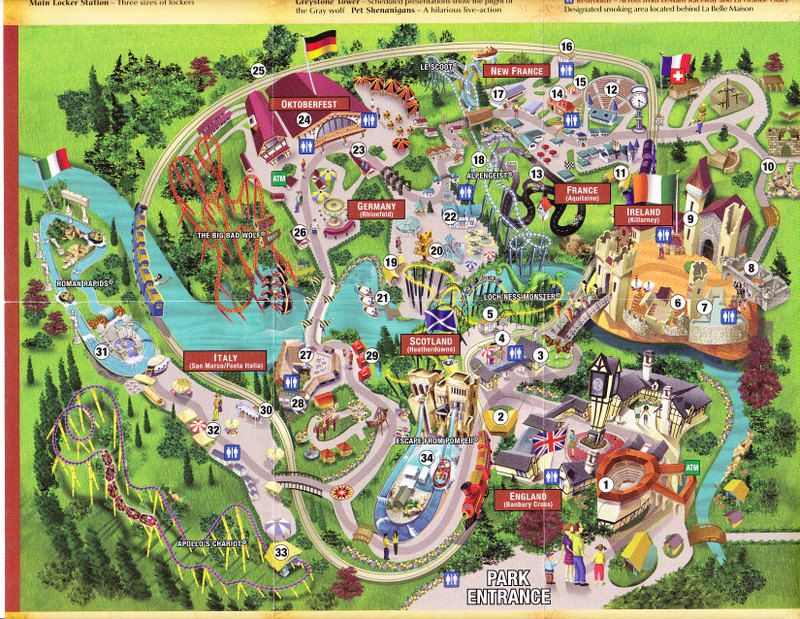 busch gardens williamsburg | Busch Gardens Blvd. Williamsburg, VA ...