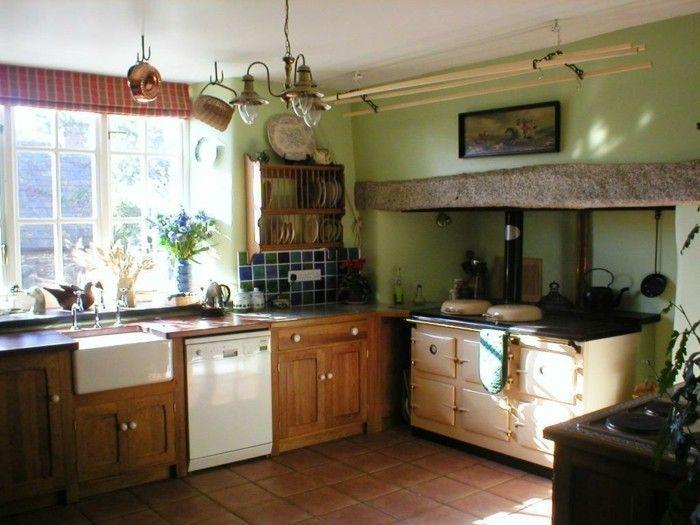 ▷ 1001+ Ideen Für Landhaus Deko Für Ein Gemütliches Zuhause | Rustic  Kitchen, Salons And Kitchens