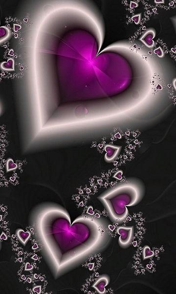 Saint Valentin 6 Fonds Ecran Animes Gratuits Fond D Ecran Colore Fond D Ecran Telephone Papier Peint Coeur